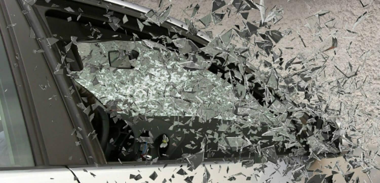 Car window breaking