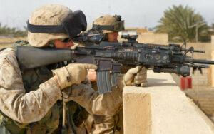 Combat soldiers